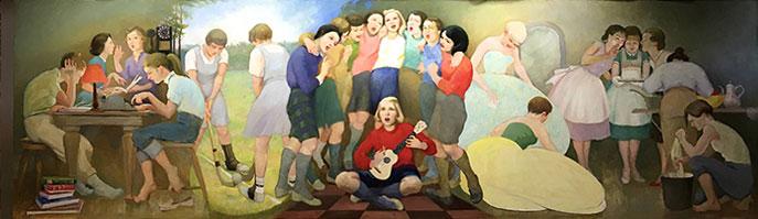 UNE Alumni Mural